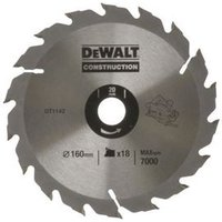 Circular Saw Blade 160 x 20mm x 18T Series 30 Fast Rip
