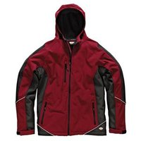 Two Tone Soft Shell Red / Black Jacket - XL (48-50in)