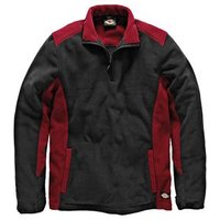 Two Tone Micro Fleece Red / Black - L (44-46in)