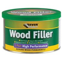 Wood Filler High Performance 2 Part Medium Stainable 500g