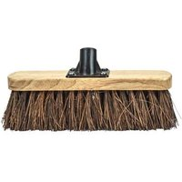 Broom Head Bassine Varnished 300mm (12in) Threaded Socket
