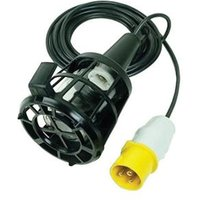 Plastic Inspection Lamp (Bulb Not Included) & 3m Cable 240 Volt