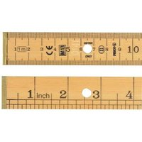 BR1 Metric / English Bench Rule 1 Metre / 3ft Government Stamped