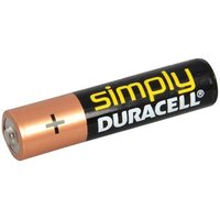 AAA Simply Duracell MN2400 Batteries Pack of 4
