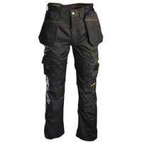 Black Holster Work Trousers Waist 42in Leg 33in