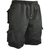 Jogger Shorts Black Waist 30in