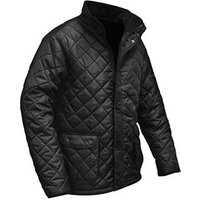 Black Quilted Jacket Large