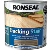 Decking Stain Country Oak 5 Litre