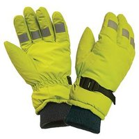 Hi-Visibility Gloves, Yellow Extra Large