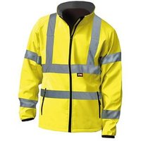 Hi-Vis Yellow Soft Shell Jacket - L (44in)