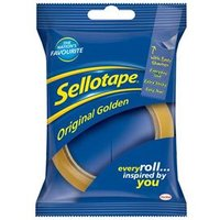 Sellotape Golden 24mm x 50m Blister Pack