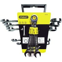 Ratcheting Wrench Set 6 Metric 10-19mm