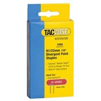 91 Narrow Crown Divergent Point Staples Selection - Electric Tackers Pack 2800