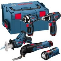 Professional 12V 5 Piece Monster Tool Kit With 3 Batteries In LBOXX