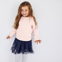 Sequin Cable Knit Jumper (1-6yrs)