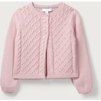 Dusky Rose Cable Cardigan (1-6yrs)