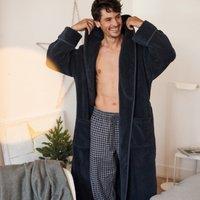 Men's Brushed Cotton Gingham Pyjama Bottoms