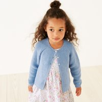 Scallop Trim Cardigan (1-6yrs)