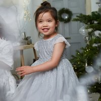 Sequin & Tulle Dress (1-6yrs)