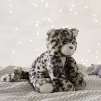 Snow Leopard Medium Soft Toy