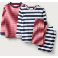 Stripe Mix & Match Pyjamas - Set of 2 (1-12yrs)