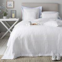 Waffle Stripe Bedspread & Cushion Covers