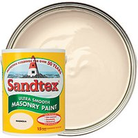 Sandtex Smooth Masonry Paint - Magnolia 5L