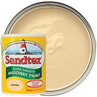 Sandtex Smooth Masonry Paint - Sand Dune 5L