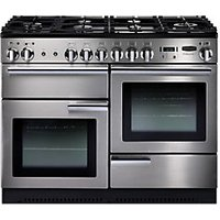 Rangemaster Professional Plus 110 Dual Fuel Cooker Stainless Steel