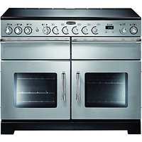 Rangemaster Excel 110 Ceramic Cooker Stainless Steel