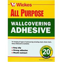 Wickes Powdered Wallpaper Adhesive 20 Roll