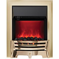 Mayfair Electric Inset Fires Brass