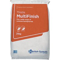 British Gypsum Thistle Multi Finish Plaster 25kg