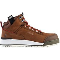 Scruffs Switchback Safety Hiker Boots Brown Size 9