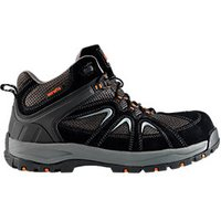 Scruffs Soar Safety Trainers Black Size 8
