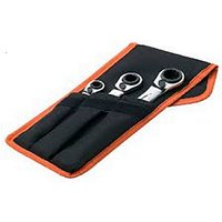 Bahco Ratchet Span Set in Wallet 3 Piece