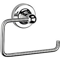 Croydex Worcester Flexi Fix Toilet Roll Holder Chrome