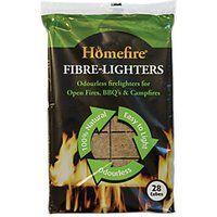 Homefire Fibre Lighters Bag Rtu