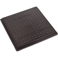 Wickes Black Drain Square Top Cover
