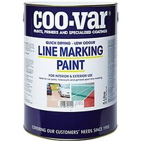 Coo-Var Low Odour Line Marking Paint - Yellow 5L