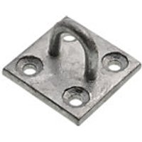Wickes Galvanised Staple on Plate 50x50mm