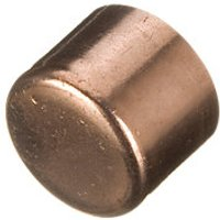 Wickes End Feed Stop End 15mm PK10