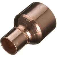 Wickes End Feed Fitting Reducer 15 x 22mm Pack 2