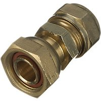 Wickes Compression Straight Tap Connector 22mm x 3/4in