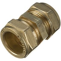 Wickes Compression Straight Coupler 8mm