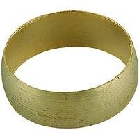 Wickes Microbore Compression Olive Ring 8mm Pack 5