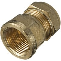 Wickes Female Iron Coupler 22 x 25mm Pack 2