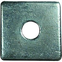 Wickes Flat Square Washers M12 Pack 4