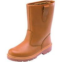 Dickies Rigger Safety Boots Tan Size 9