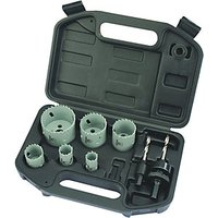 Wickes Plumbers Hole Saw Set 9 Piece
